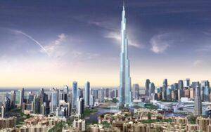 Niesamowite wieżowce w Dubaju