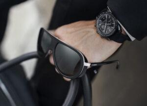 Okulary VIP-a z logo OMEGA