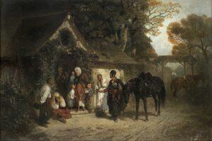 """""""Powrót bez pana"""" z 1868 roku – gratka dla kolekcjonerów"""