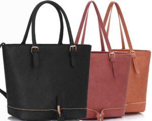 Torba shopper bag, listonoszka, kopertówka – jak dobrać torebkę?
