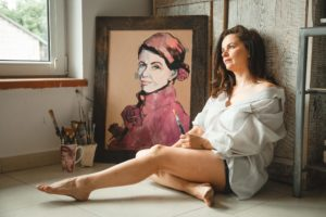 Płótna z duszą – Sylwia Kalinowska