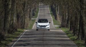 Spotkanie w zgodzie z naturą, czyli nowy Nissan Leaf w Mikołajkach