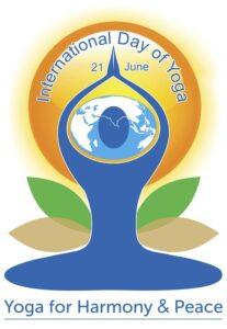 Plakat Międzynarodowego Dnia Jogi