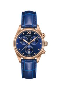 Certina DS-8 Lady Chronometer - niebieski