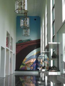 Muzeum Louwman - wnętrze