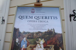 Polska Opera Królewska – światowa premiera Quem Queritis