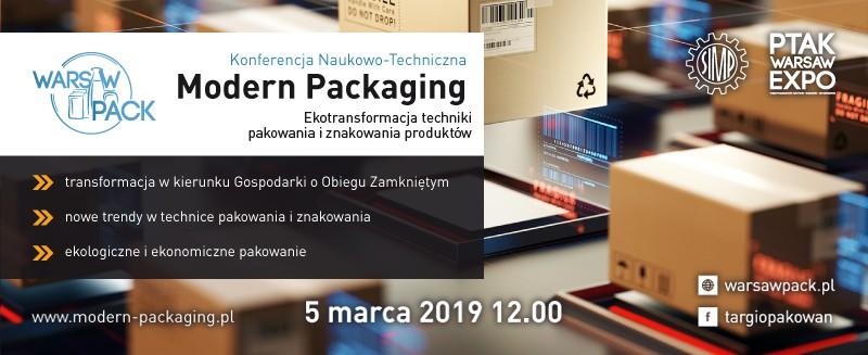 Modern Packaging - konferencja - baner