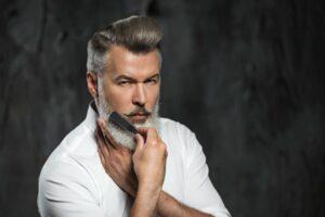 Męskie brody i fryzury na wiosnę