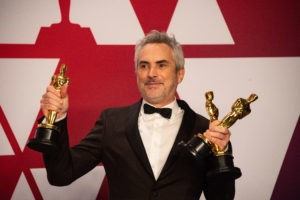 Alfonso Cuarón ze statuetkami Oscara