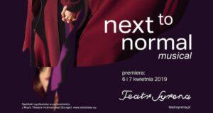 Next to normal – najlepszy współczesny musical w Teatrze Syrena