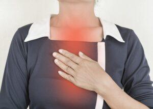 Zgaga – typowy objaw choroby refluksowej przełyku