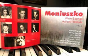 Jola Pszczółkowska – Pawlik nowa płyta: Moniuszko Pieśni vol. 4 Ballady