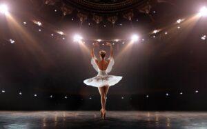 Aranżacja sceny pod występy taneczne