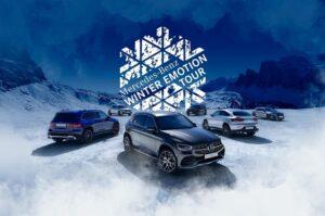 Zapisz się na testy Mercedesa w polskich górach