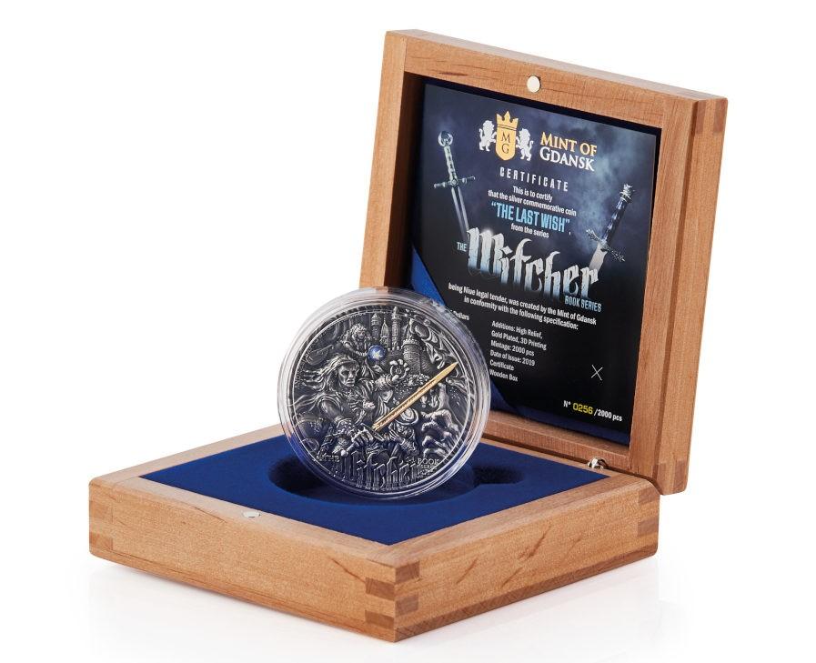 Wiedźmin moneta