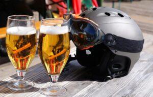 Jazda na nartach i alkohol to zły mariaż