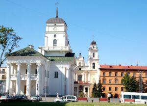 Weekend w Mińsku stolicy Białorusi