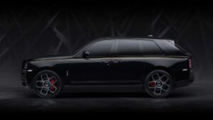 Rolls Royce Cullinan – Brytyjski diament w wersji Black Badge