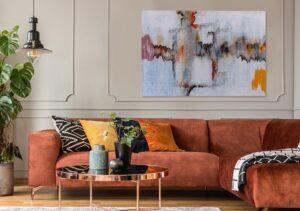 Abstrakcyjne obrazy – poznaj przepis na oryginalny wystrój mieszkania