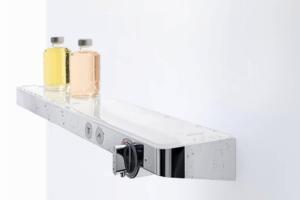 Nowoczesne baterie prysznicowe – zgrany duet funkcjonalności i designu