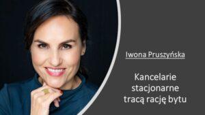 Iwona Pruszyńska – w sądownictwie innowacje będą gonić innowacje