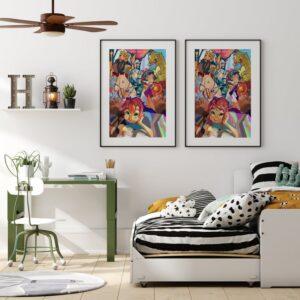 Jak dopasować plakaty do aranżacji salonu?