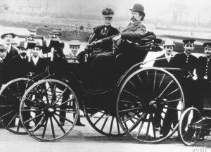 Historyczna wyprawa Berthy Benz